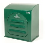 Kingsley GC2 Green Industrial Gas Meter Housing - GC2 Wall Mounted