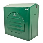 Kingsley GC4 Green Industrial Gas Meter Housing - LOW pressure Gas Meters