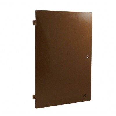 Mitras Electric Meter Box Door Brown (383mm x 550mm)