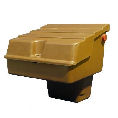 Brown Mitras Semi-Buried Gas Meter Box Suits U6 Metal Meter