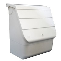 White Mitras Unibox Universal Gas Meter Box - UB1 - G02014