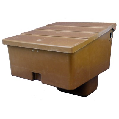 Brown Connect Semi-Buried Gas Meter Box - G60055