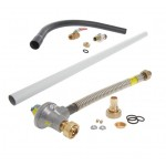 1st and 2nd Stage Gas Meter Connection Kit - 32mm pipe - ECV to Meter (Recessed)
