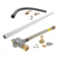 1st and 2nd Stage Gas Meter Connection Kit - 25mm pipe - ECV to Meter (Recessed)