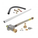 1st and 2nd Stage Gas Meter Connection Kit - 32mm pipe - ECV to Meter (Surface)