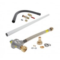 1st and 2nd Stage Gas Meter Connection Kit - 25mm pipe - ECV to Meter (Surface)